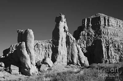Photograph - Arizona Landscape IIi Bw by David Gordon