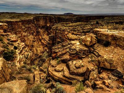 Photograph - Arizona - Little Colorado River Gorge 002 by Lance Vaughn