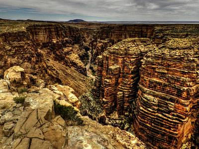 Desert Photograph - Arizona - Little Colorado River Gorge 003 by Lance Vaughn