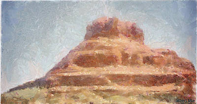 Painting - Arizona Mesa by Jeffrey Kolker