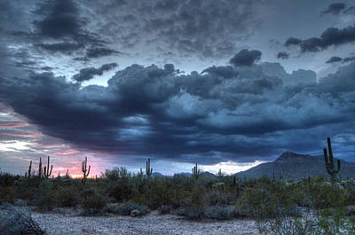 Photograph - Arizona Monsoon by Tam Ryan