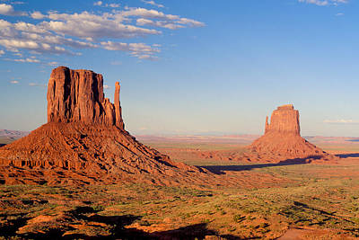 Terrain Photograph - Arizona Monument Valley by Anonymous