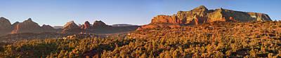 Photograph - Arizona Red Rocks by Alexey Stiop