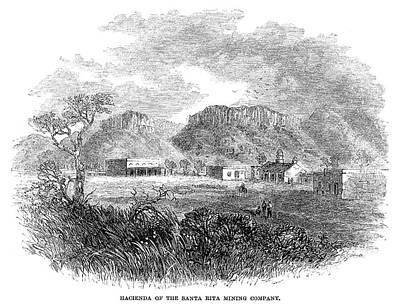 Rita Painting - Arizona Santa Rita, 1865 by Granger