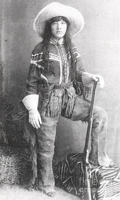 Photograph - Arizona Scout  - 1880 by Roberto Prusso