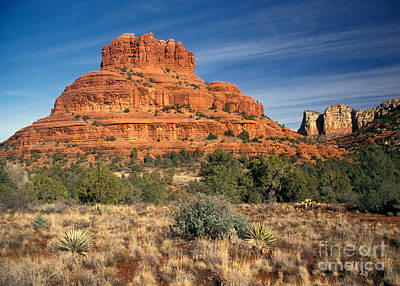 Terrain Photograph - Arizona Sedona Bell Rock  by Anonymous