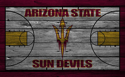 Arizona State Sun Devils Art Print by Joe Hamilton