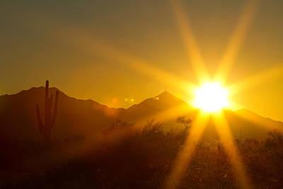 Photograph - Arizona Sun by James BO Insogna