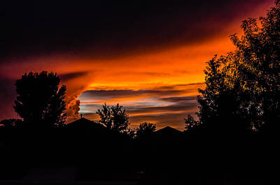 Photograph - Arizona Sunset 8.25.14  by Alan Marlowe