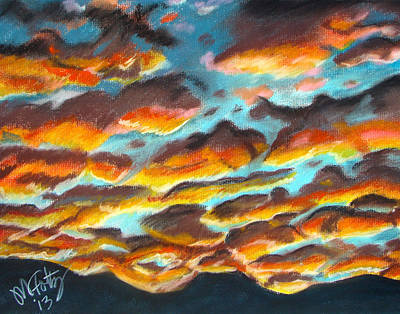 Painting - Arizona Sunset by Michael Foltz