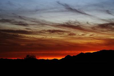 Photograph - Arizona Sunset Skies by Broderick Delaney
