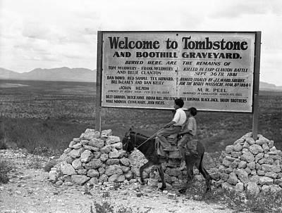 Photograph - Arizona Tombstone, 1937 by Granger