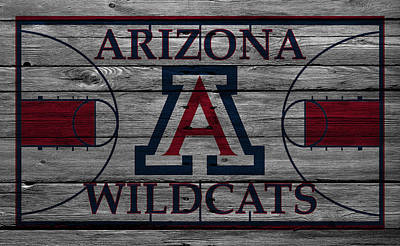 Arizona Wildcats Art Print by Joe Hamilton