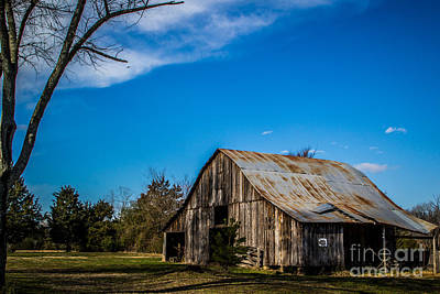 Photograph - Arkansas Barn And Blue Skies by Jim McCain