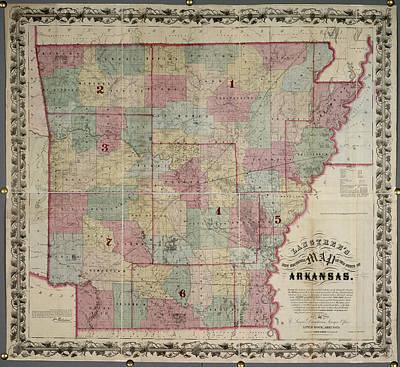 Arkansas Photograph - Arkansas by British Library
