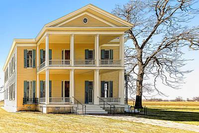 Photograph - Arkansas Plantation House by Maria Coulson