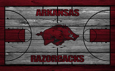 Arkansas Photograph - Arkansas Razorbacks by Joe Hamilton