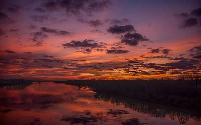 Arkansas River Rise Art Print by Ken Beatty