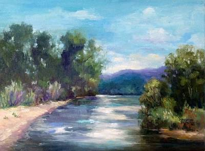 Painting - Arkansas River Views by Sharon Franke