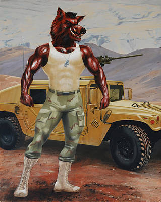 Arkansas Soldier Art Print