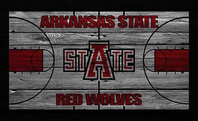 Arkansas State Red Wolves Art Print