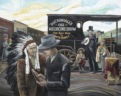 Arkansas Painting - Arkansas Traveler by Paula Blasius McHugh