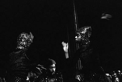 Sun Ra Arkestra Photograph - Arkestra Dancers by Lee  Santa