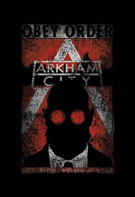 Gotham City Digital Art - Arkham City - Obey Order Poster by Brand A