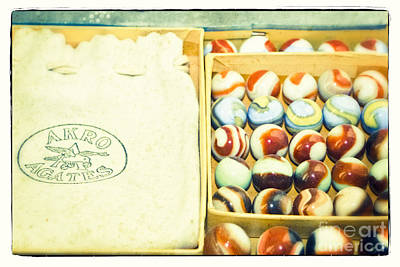 Photograph - Arko Agates - Vintage Marbles by Colleen Kammerer