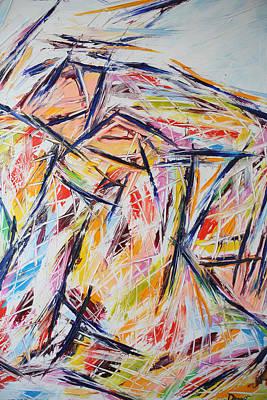 Quadri Painting - Arlecchino Pensieroso by Enrico Nicodemo