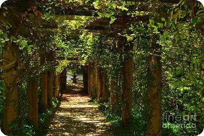 Arlie Italian Pergola Garden Art Print