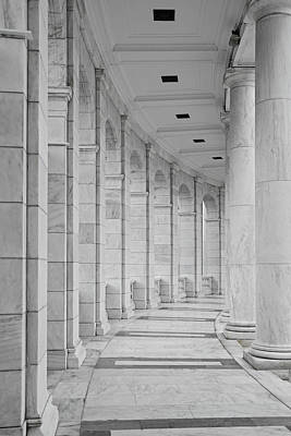 Arlington Amphiteather Arches And Columns Art Print