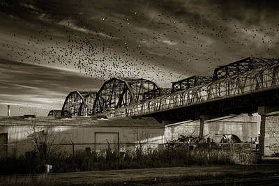 Winnipeg Photograph - Arlington Bridge by Bryan Scott