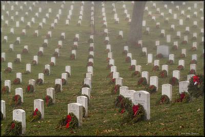 Photograph - Arlington Christmas by Erika Fawcett