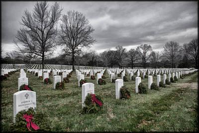 Photograph - Arlington Christmas Storm by Erika Fawcett