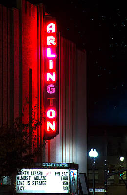 Photograph - Arlington Cinema And Drafthouse II by Mark Andrew Thomas