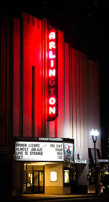 Photograph - Arlington Cinema And Drafthouse by Mark Andrew Thomas