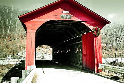 Photograph - Arlington Green Bridge by JAMART Photography