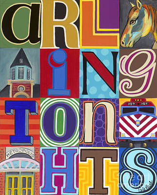 Painting - Arlington Heights  by Carla Bank