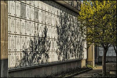 Photograph - Arlington Mausoleum by Erika Fawcett