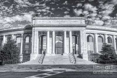 Photograph - Arlington Memorial Amphitheater II by Clarence Holmes