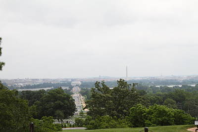 Brave Photograph - Arlington National Cemetery - 01136 by DC Photographer
