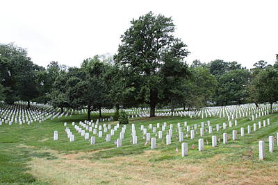 Brave Photograph - Arlington National Cemetery - 01137 by DC Photographer
