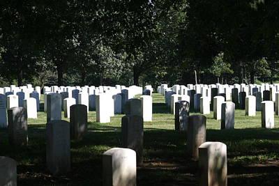 Arlington National Cemetery - 12121 Art Print by DC Photographer