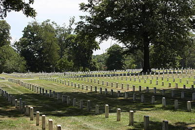 Arlington National Cemetery - 121221 Art Print by DC Photographer