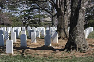Brave Photograph - Arlington National Cemetery - 12123 by DC Photographer