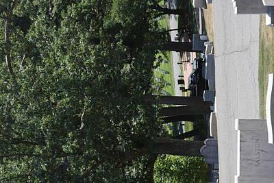 Grave Photograph - Arlington National Cemetery - 121233 by DC Photographer