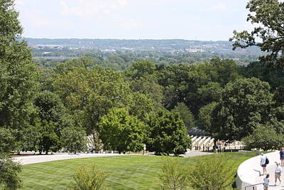 Tombstone Photograph - Arlington National Cemetery - 121234 by DC Photographer