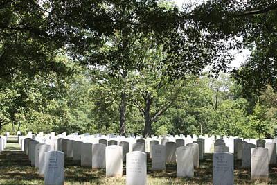 Arlington National Cemetery - 121245 Print by DC Photographer