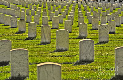 Photograph - Arlington National Cemetery 2 by Jonathan Harper